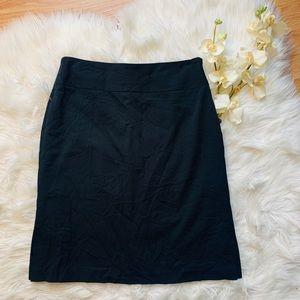 Banana Republic Black Pencil Skirt 4P